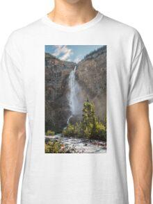 Takakkaw Falls British Columbia Classic T-Shirt