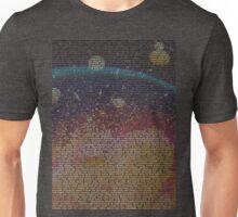 Radiohead - In Rainbows Lyrics T-Shirt Design #2 Unisex T-Shirt