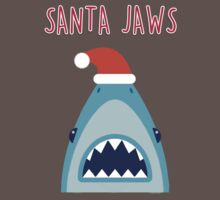 Santa Jaws One Piece - Short Sleeve
