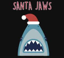 Santa Jaws One Piece - Short Sleeve