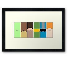 Achievement Hunter Animated Poster Framed Print