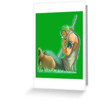 Roronoa Zoro Greeting Card