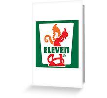 Savin' Eleven Greeting Card