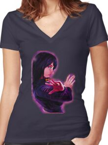 Nico Robin Women's Fitted V-Neck T-Shirt