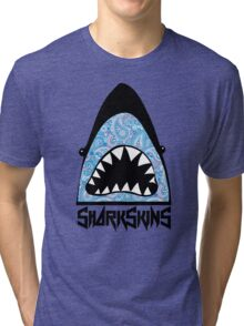 Paisley Shark Tri-blend T-Shirt