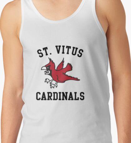 St Vitus Cardinals Basketball Team Tank Top