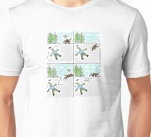 Bury the Bone!  Search and Rescue is not on it's way. Unisex T-Shirt