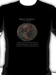 Ancient Roman Coin - MARCUS AURELIUS - Meditations T-Shirt