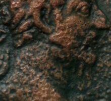 Ancient Roman Coin - MARCUS AURELIUS - Meditations Sticker