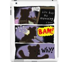Suicide of T. Bear iPad Case/Skin