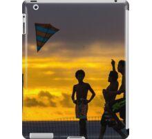 Sunset kite iPad Case/Skin