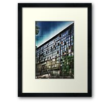 Run Down Building (HDR) Framed Print