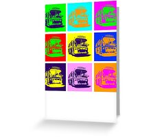 Bus to Nowhere Greeting Card