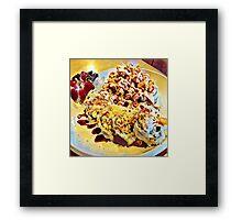 Sushi Swirl K1 Framed Print