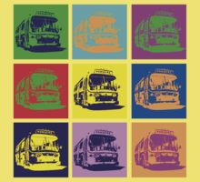 Bus to Nowhere One Piece - Short Sleeve