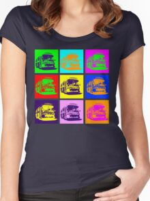Bus to Nowhere Women's Fitted Scoop T-Shirt