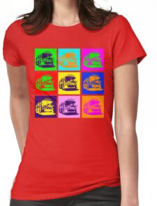 Bus to Nowhere Womens Fitted T-Shirt