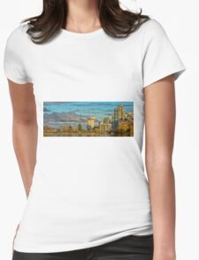 Lost Lagoon View Womens Fitted T-Shirt