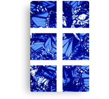 Fragmented Monarchy in Sharpie (Ice Ice Baby Edition) Canvas Print