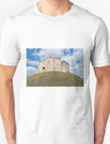 Clifford's Tower in York  historical building. Unisex T-Shirt