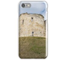 Clifford's Tower in York  historical building. iPhone Case/Skin