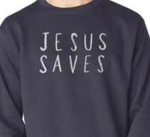 Jesus Saves x Navy Pullover