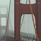 Not So GOLDEN Gate Bridge by Randy Richards