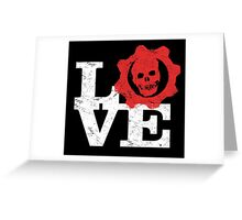 Love Gears Of War Greeting Card