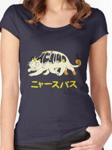 Nyasu Basu Women's Fitted Scoop T-Shirt
