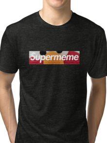 SUPERMEME with ELMO Tri-blend T-Shirt