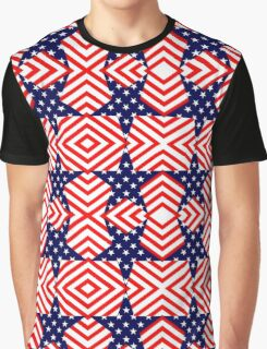 STARS AND STRIPES-333 Graphic T-Shirt