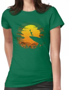 The Circle of Life Womens Fitted T-Shirt