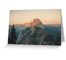 Half Dome III Greeting Card