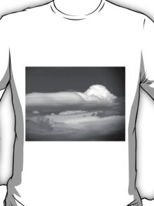 Black And White Cloud 3  T-Shirt