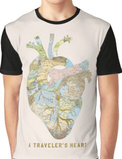A Traveler's Heart Graphic T-Shirt