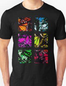 Fragmented Monarchy in Sharpie (Rainbow Edition) Unisex T-Shirt