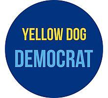 Yellow Dog Democrat Photographic Print