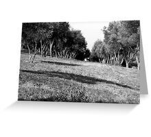 Black And White Landscape 1 Greeting Card
