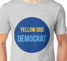 Yellow Dog Democrat Unisex T-Shirt