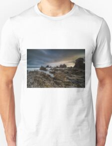 Rocky Southern California Beach 4 Unisex T-Shirt