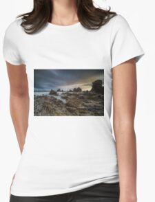 Rocky Southern California Beach 4 Womens Fitted T-Shirt