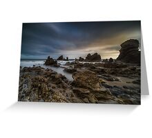 Rocky Southern California Beach 4 Greeting Card