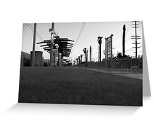 Black And White Landscape 2  Greeting Card