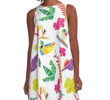 Tropicana A-Line Dress
