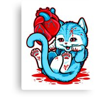 Cat Got Your Heart Canvas Print