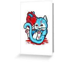 Cat Got Your Heart Greeting Card