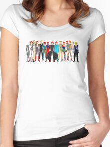 Group Bowie Fashion Women's Fitted Scoop T-Shirt