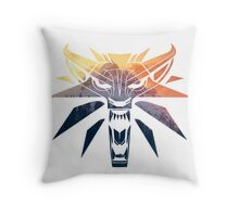The Witcher - Wolf  Throw Pillow