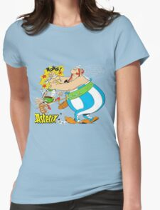 asterix and obelix Womens Fitted T-Shirt
