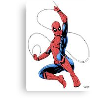 MCU Spider-Man Canvas Print